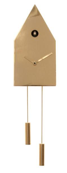 24K 2195 Gold Wall Clock