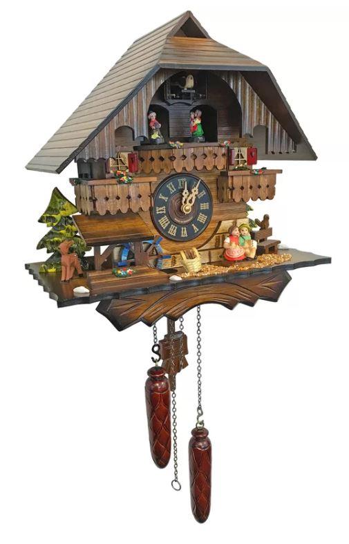 Alexander Taron Battery Cuckoo Clock