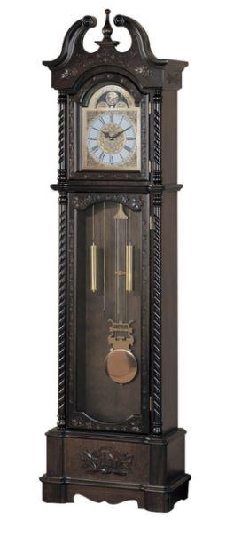 Benzara Aesthetically Charmed Wooden Grandfather Clock