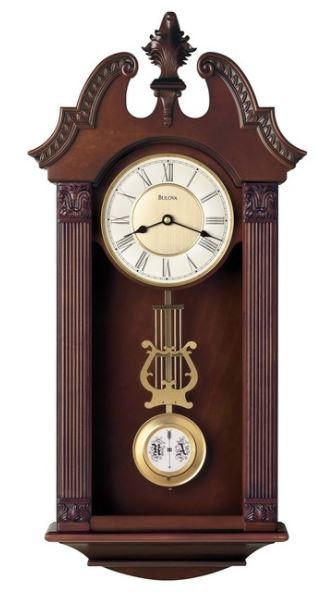 Bulova Ridgedale Chiming Wall Clock
