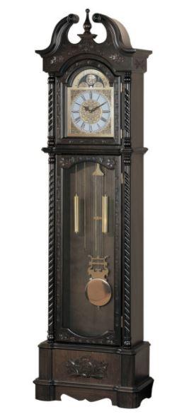 Coaster Grandfather Clock Dark Brown