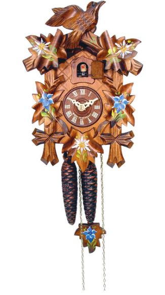 Edelweiss Engstler Weight-Driven Cuckoo Clock