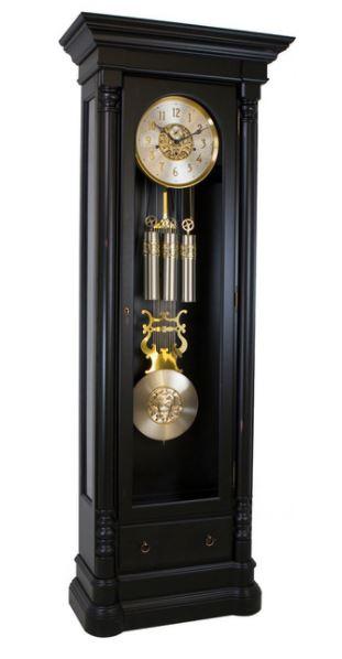 Nicolette Grandfather Clock Black