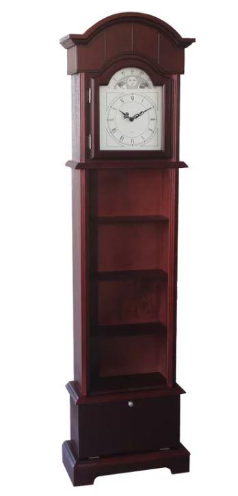 Ophelia Wood Floor Clock