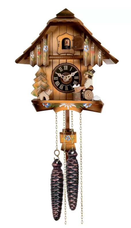 River City Clocks Cuckoo Wall Clock