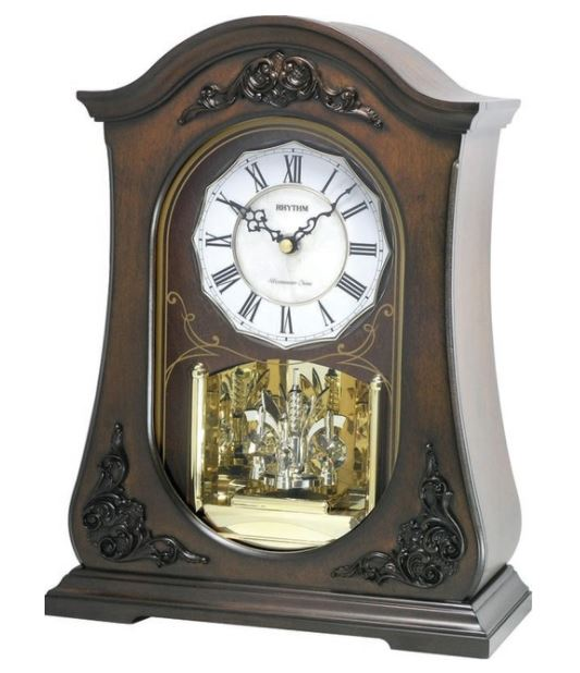WSM Chelsea Wooden Musical Mantel Clock