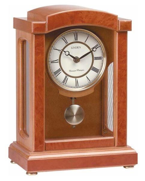 Walnut Wooden Parisian Pendulum Clock